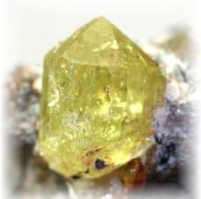 yellow apatite-k016