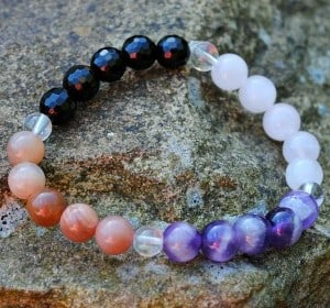 NJOY Crystal Bracelet ~ Depression & Grief