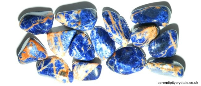Sunset Sodalite ~ Clarity, Strength & Confidence