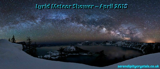 Lyrid Meteor Shower ~ 19-25 April 2019