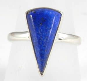 Lapis Lazuli Ring ~ Item D ~ Size P-UK, 8-US, 56 1/4-EU