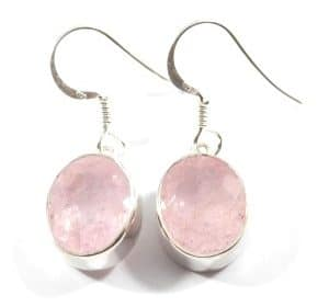 Morganite Faceted Earrings ~ Item B