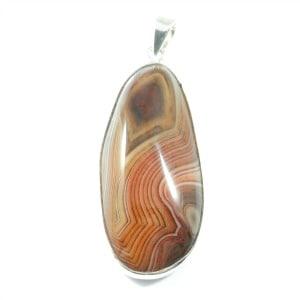 Striped Agate Pendant