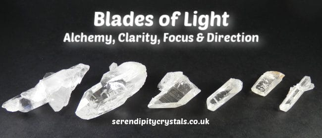 Blades of Light ~ Clearing the Past & Raising Our Vibrations